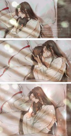 Yuri Manga, Manga Anime, Fanarts Anime, Manga Art, Anime Characters, Anime Lindo, Cute Chibi, Cute Anime Guys, Cute Gay