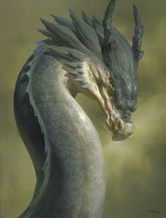 A Chinese dragon study, Tianhua Xu on ArtStation at https://www.artstation.com/artwork/a-chinese-dragon-study
