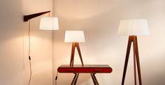 De Miller collectie van staande, tafel en wandlampen is stijlvol en elegant.