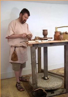 medieval pottery making