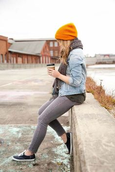 Go Gray All The Way - Jeans trend for the season #fashiontrends #trends