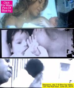 Beyonce & Jay Z Reveal Footage Of Blue Ivy's Birth During 'On The Run'