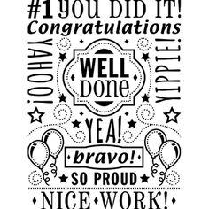 Darice® Embossing Folders: Congratulations Word Collage Background Folder, 4.25 x 5.75