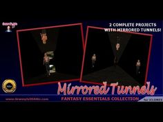 Mirrored Tunnels Content Pack for iClone