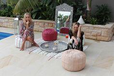 """Ambiance orientale raffinée et girly avec Nicole et Danyell Benton du blog """"When Words Fail"""""""