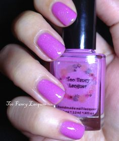 Bauhinia Garden Limited Edition  orchid pink by TooFancyLacquer