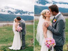 Modern Handmade Canadian Wedding: Jamie + Randy