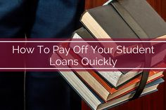 Don't spend the next 20 years of your life repaying your college debt. Follow our steps to get rid of your college loan burden!