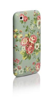 spray flowers iphone case