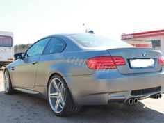 BMW M3 E92 frozen grey