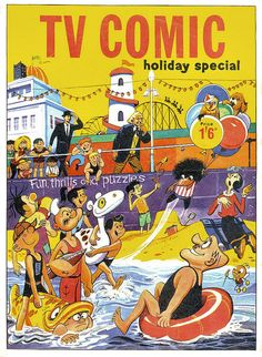 Doctor Who TV Comic Holiday Special 1966-1 by combomphotos, From the archives of the Timelords and Whovians