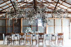 Luisa Brimble: cotton foliage at the daily plenty workshop Wedding Mood Board, Wedding Table, Rustic Wedding, Farm Wedding, Wedding Reception, Turbulence Deco, Wedding Decorations, Table Decorations, Industrial Wedding