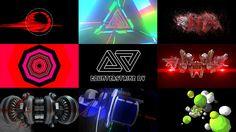 Counterstrike Audio Visual Show Promo Video #processing #3DS #Element3D #Cinema4D #responsive #reactive #drumnbass