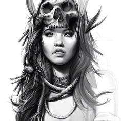 work in progress  #cg #wip #work #rose #retro #tattoo #tattoed #tenerife #tattoedgirl #ink #inked #inkedgirl #illustration #skull #shadow #sketch #skinny #forest #eye #lip #lady #vintage #girl #girls #california #black #beauty #ny #death #death