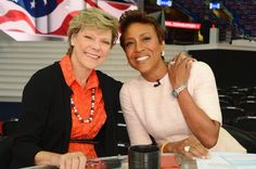 Robin Roberts & Cookie Roberts at RNC 7/21/16 Twitter