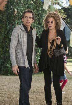 Ben Stiller & Barbra.