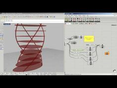 Grasshopper 04 . Parametric Tower, skin structure- فارسی معماری- farsi - YouTube