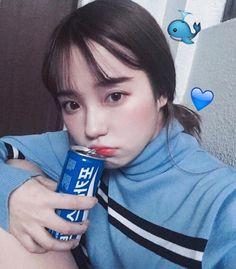 포카리스웨트 Korean girl