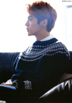 luhan ~ #exo { is it just me or is Lulu looking more and more manly and handsome every day?.. }