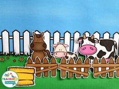 This farm vocabulary pack includes 5 interactive speech therapy activities that will help you reinforce theme based vocabulary for PreK & Kindergarten.