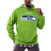Nike Seattle Seahawks White Champ Drive Vapor Speed Fly Rush Flash Half-Zip Pullover Jacket