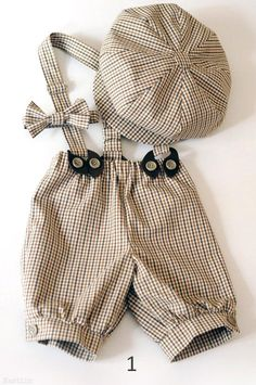 Toddler boy outfit beige Baby boy newsboy hat Tartan bow tie and suspenders Infant boy shorts Ring bearer outfit blue Baby boy photo prop - Baby clothes - Fashion Kids, Baby Boy Fashion, Fashion Clothes, Fashion Accessories, Fashion Dresses, Fashion Design, Fashion Trends, Toddler Boy Outfits, Toddler Boys
