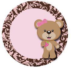 tag Baby Shower Greeting Cards, Baby Cards, Teddy Bear Birthday, Baby Shower Niño, Bear Theme, Baby Shawer, Bear Party, Baby Album, Baby Month By Month