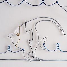 Instagram media by wip.si - Detail 1. Tropical fish  #wire #wireart #tropical #fish #detail #art #wirework #artwork #handmade #wipsi #worldwirewipsi #artworks #arte #inspiration #creative #instaart #design #fildefer #fildiferro #sailingdays #composition