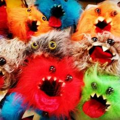 A pile of screaming dice bags... (ok that seems a bit creepy). They want to eat dice but I don't have enough for all of them!  Buy a dice bag and save a poor fluffy monster from starving. :P  #havefunbeeccentric #boardgamelife #games #boardgame #gameaddict #bgg #boardgaming #dice #dicegame #dicebag #d&d #dicemonster #gami #gamidicebag #dicelove #dnd #dungeonsanddragons #roleplay