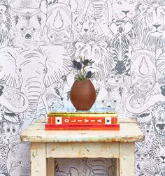 Created by Featured Designer Sarah Watson. This is the perfect print to bring your Safari themed dreams to life!