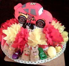 Easter Bonnet — (673x650) Birthday Cake, Easter, Desserts, Food, Tailgate Desserts, Deserts, Birthday Cakes, Easter Activities, Essen