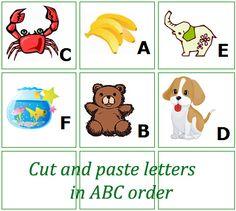 Free alphabetical order worksheets. | schooling | Pinterest | Home ...