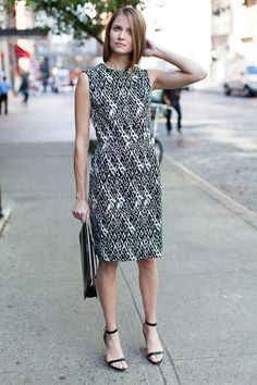 Emerson Fry Spring Collection Patterned Dress