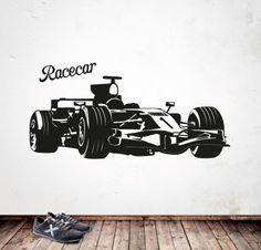 RACECAR http://www.myvinilo.com/vinilos-pop/racecar.html Vinilos decorativos, hogar, decoración, interiores, pared, diseño, grafica, wall decals, stickers, decoration, design, graphics, arte, art, race, carrera, coches, motos, car, auto, grand prix.