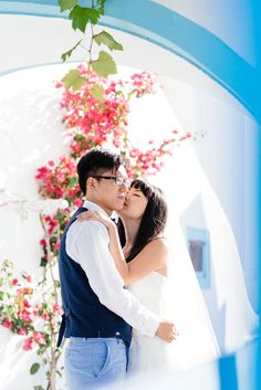 From Hong Kong to Santorini – Honeymoon » Wedding, Baptism and Newborn Photographer #Santorini #honeymoon #wedding #photographer