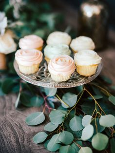 Rose inspired cupcakes: http://www.stylemepretty.com/2017/05/03/parisian-chic-engagement-party/ Photography: Steve Steinhardt - http://www.stevesteinhardt.com/