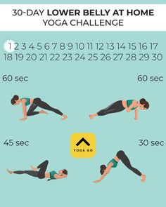 At Home Workout Plan, At Home Workouts, Yoga Workouts, Weight Workouts, Push Workout, Workout Challenge, Lose Weight At Home, Yoga For Weight Loss, Summer Body Workouts