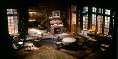 Long Day's Journey Into Night. Stratford Festival. Scenic design by Michael Whitfield. 1980