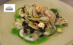 Michelin star chef Andy McFadden creates recipes with scallops, grouse a...