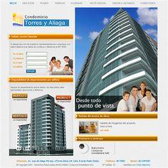 BIANCONERO - Proyecto Edificio Torres y Aliaga - Diseño de sitio web y vistas en 3D / BIANCONERO - Torres y Aliaga Building Project - Website design and 3D views