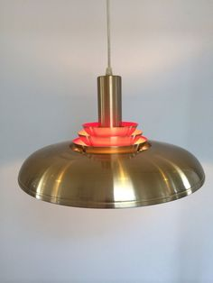 Fog Morup brass lamp by deerstedt. Explore more products on http://deerstedt.etsy.com
