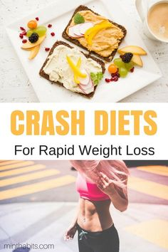 Best crash diets for fast weight loss. This list of crash diets are quick ways to lose weight. Learn how they work here.