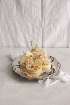 ... duo de crèmes caramel & vanille-pop corn ...