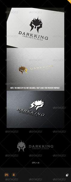 Dark King Logo — Vector EPS #game #dark • Available here → https://graphicriver.net/item/dark-king-logo/4942933?ref=pxcr