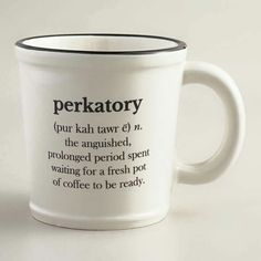 Perkatory... oh the anguish!