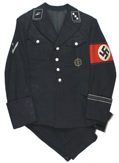 German WWII Allgemeine SS uniform