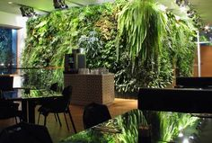Modern and eco friendly Green wall design ideas include space saving decorative vertical displays, created with outdoor and indoor plants, and vertical gardens which offer great space saving solutions for growing vegetables and edible herbs Vertical Garden Design, Vertical Gardens, Small Backyard Gardens, Backyard Garden Design, Modern Backyard, Large Backyard, Balcony Garden, Small Gardens, Garden Planters