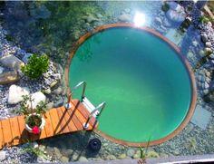 Circular Natural Pool