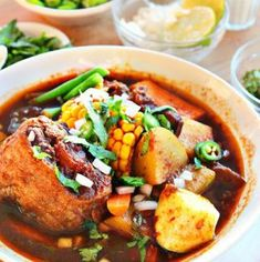 A soup cherished for a lot of, a basic within the Mexican delicacies: Mole de Olla. Consider it as a married between a beef soup with a dried peppers stew – it … Chayote Recipes, Dried Peppers, Mexican Food Recipes, Ethnic Recipes, Mexican Cooking, Mexican Dinners, Mexican Drinks, Comida Latina, Latin Food