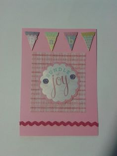 Baby Shower Card/ Bundle Of Joy by Adsforyou on Etsy, $4.00